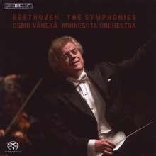Ludwig van Beethoven (1770-1827): Symphonien Nr.1-9, 5 SACDs
