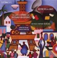 Heitor Villa-Lobos (1887-1959): Bachianas Brasileiras Nr.1-9, 7 CDs