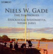 Niels Wilhelm Gade (1817-1890): Symphonien Nr.1-8, 5 CDs