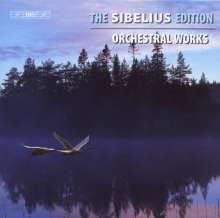Jean Sibelius (1865-1957): The Sibelius Edition Vol.8 - Orchesterwerke, 6 CDs