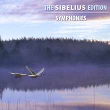 Jean Sibelius (1865-1957): The Sibelius Edition Vol.12 - Symphonien, 5 CDs