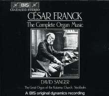 Cesar Franck (1822-1890): Orgelwerke (Ges.-Aufn.), 2 CDs