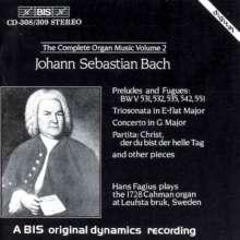 Johann Sebastian Bach (1685-1750): Sämtliche Orgelwerke Vol.2, 2 CDs