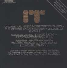 Swedish Radio Symphony Orchestra - 50 Years, 5 LPs