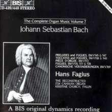 Johann Sebastian Bach (1685-1750): Sämtliche Orgelwerke Vol.7, 2 CDs
