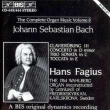 Johann Sebastian Bach (1685-1750): Sämtliche Orgelwerke Vol.8, 2 CDs