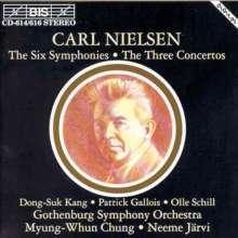 Carl Nielsen (1865-1931): Symphonien Nr.1-6, 4 CDs