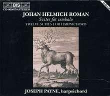 Johan Helmich Roman (1694-1758): 12 Suiten für Cembalo, 2 CDs