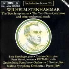 Wilhelm Stenhammar (1871-1927): Symphonien Nr.1 & 2, 4 CDs