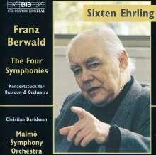 Franz Berwald (1796-1868): Die 4 Symphonien, 2 CDs