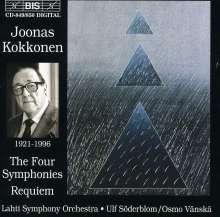 Joonas Kokkonen (1921-1996): Symphonien Nr.1-4, 2 CDs