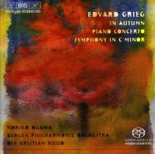Edvard Grieg (1843-1907): Symphonie c-moll, Super Audio CD