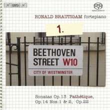 Ludwig van Beethoven (1770-1827): Sämtliche Klavierwerke Vol.1, Super Audio CD