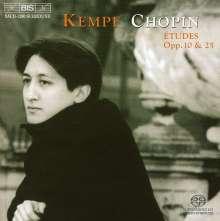Frederic Chopin (1810-1849): Etüden Nr.1-24, SACD