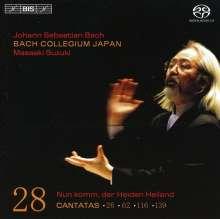 Johann Sebastian Bach (1685-1750): Kantaten Vol.28 (BIS-Edition), SACD