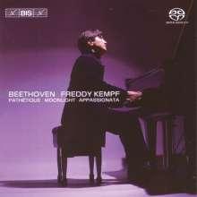 Ludwig van Beethoven (1770-1827): Klaviersonaten Nr.8,14,23, Super Audio CD