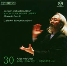 Johann Sebastian Bach (1685-1750): Kantaten Vol.30 (BIS-Edition), Super Audio CD