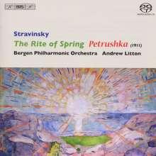 Igor Strawinsky (1882-1971): Petruschka, SACD