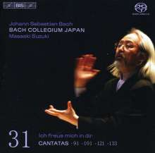 Johann Sebastian Bach (1685-1750): Kantaten Vol.31 (BIS-Edition), Super Audio CD