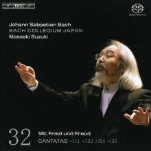 Johann Sebastian Bach (1685-1750): Kantaten Vol.32 (BIS-Edition), Super Audio CD
