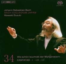 Johann Sebastian Bach (1685-1750): Kantaten Vol.34 (BIS-Edition), Super Audio CD
