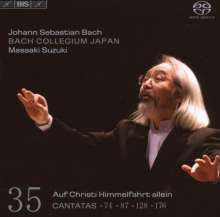 Johann Sebastian Bach (1685-1750): Kantaten Vol.35 (BIS-Edition), SACD