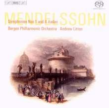 Felix Mendelssohn Bartholdy (1809-1847): Symphonie Nr.1, Super Audio CD