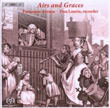 Airs and Graces - Scottish Tunes and London Sonatas, Super Audio CD