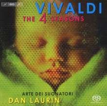 """Antonio Vivaldi (1678-1741): Concerti op.8 Nr.1-4 """"4 Jahreszeiten"""", Super Audio CD"""
