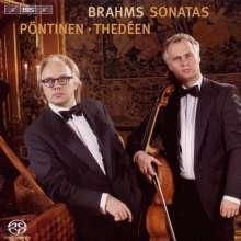 Johannes Brahms (1833-1897): Cellosonaten Nr.1 & 2, SACD