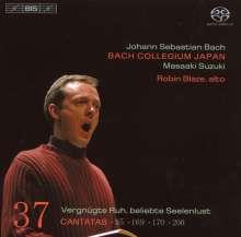 Johann Sebastian Bach (1685-1750): Kantaten Vol.37 (BIS-Edition), Super Audio CD