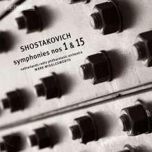 Dmitri Schostakowitsch (1906-1975): Symphonien Nr.1 & 15, Super Audio CD