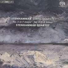 Wilhelm Stenhammar (1871-1927): Streichquartette Vol.1, Super Audio CD