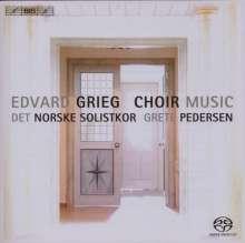 Edvard Grieg (1843-1907): Chorwerke, SACD