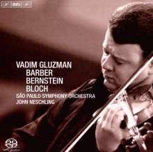 Samuel Barber (1910-1981): Violinkonzert op.14, SACD