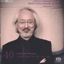 Johann Sebastian Bach (1685-1750): Kantaten Vol.40 (BIS-Edition), SACD