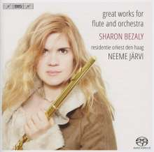 Sharon Bezali - Great Works For Flute And Orchestra, Super Audio CD