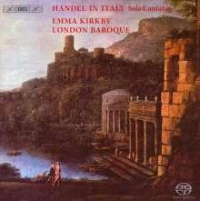 Georg Friedrich Händel (1685-1759): Italienische Kantaten für Sopran, SACD