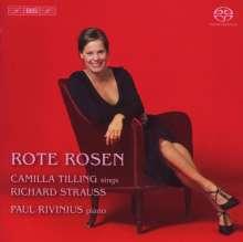 Camilla Tilling - Rote Rosen (Lieder von Richard Strauss), SACD