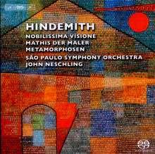 "Paul Hindemith (1895-1963): Symphonie ""Mathis der Maler"", SACD"