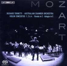 Wolfgang Amadeus Mozart (1756-1791): Violinkonzerte Nr.1,2,4, SACD