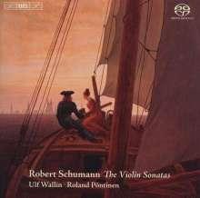 Robert Schumann (1810-1856): Sonaten für Violine & Klavier Nr.1-3, SACD