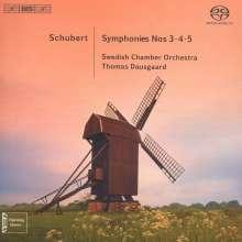 Franz Schubert (1797-1828): Symphonien Nr.3-5, Super Audio CD