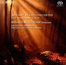 Wolfgang Amadeus Mozart (1756-1791): Klavierkonzerte Nr.9 & 12, SACD