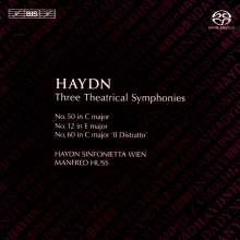 Joseph Haydn (1732-1809): Symphonien Nr.12,50,60, SACD