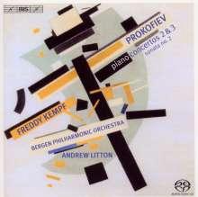 Serge Prokofieff (1891-1953): Klavierkonzerte Nr.2 & 3, Super Audio CD