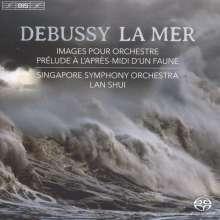 Claude Debussy (1862-1918): Images pour Orchestre Nr.1-3, SACD