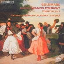 """Karl Goldmark (1830-1915): Symphonien Nr.1 """"Ländliche Hochzeit"""" & Nr.2, Super Audio CD"""