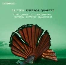 Benjamin Britten (1913-1976): Streichquartett F-Dur, SACD