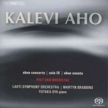 Kalevi Aho (geb. 1949): Oboenkonzert, Super Audio CD